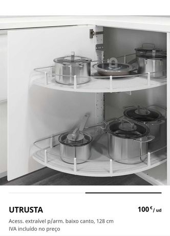 Extraível para armário de cozinha NOVO - arrumação / organização