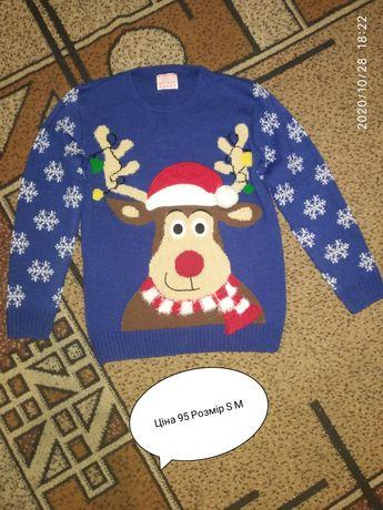 Новорічний светр кофти