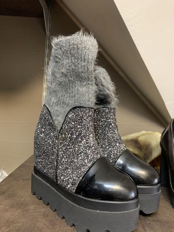 Ботинки осень зима 24,5 см