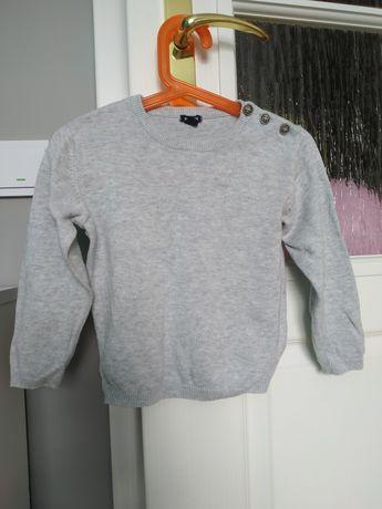 Sweterek szary  KIABI