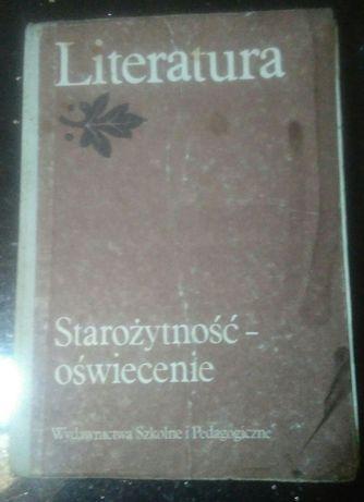 Literatura Starożytność - oświecenie