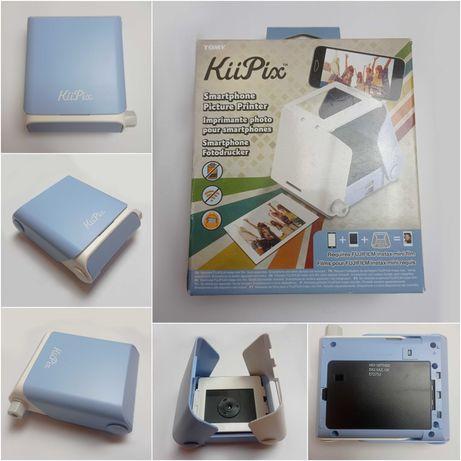 Tomy KiiPix - E72752 - drukarka zdjęć ze Smartfona