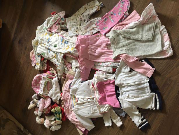 Одежда на девочку от 0-6 месяцев