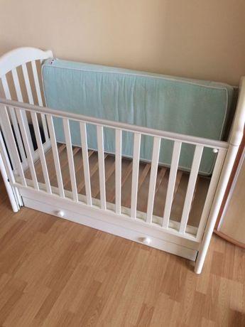 Детская кроватка Baby-Italia EURO Цвет слоновая кость