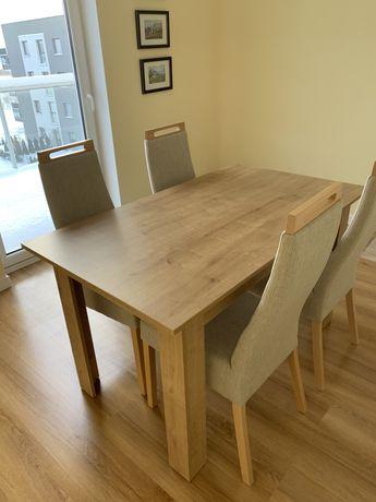 NOWE-Stół + krzesła komplet jadalnia meble-NOWE!