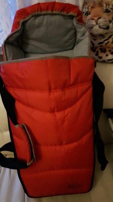 Wkład gondolka miękka gondola nosidełko wózek Graco