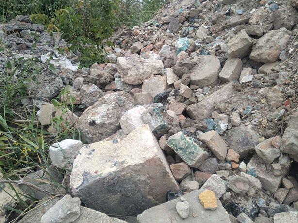 Камни кирпич отходы