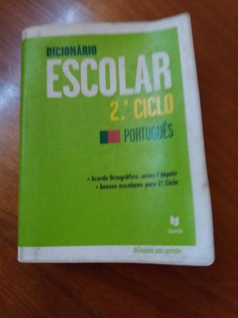 Dicionário escolar 2 ciclco Português