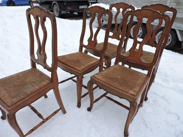 Krzesla ludwikowskie 5 szt