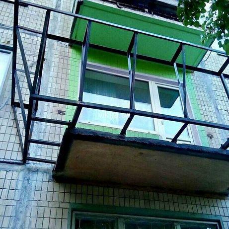 Расширение и усиление балконов и лоджий