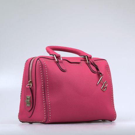 Кожаная женская сумочка сатчел Henri Bendel