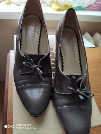 Buty skórzane eksbut r 40