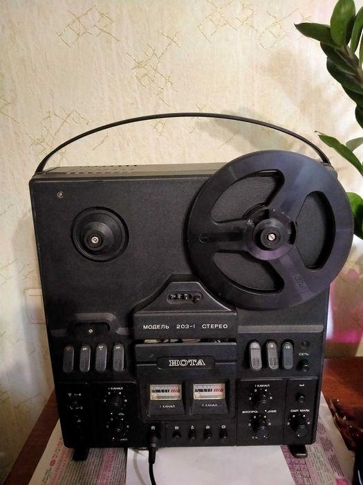 Бобинный Магнитофон Нота 203-1 стерео Каменское - изображение 1