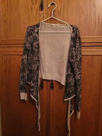 Sweterek zawiązywany bądź nie - Monnari M