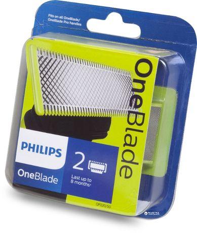 Лезвия Philips OneBlade комплект 1 шт. - 2 шт. ОРИГИНАЛ на все модели