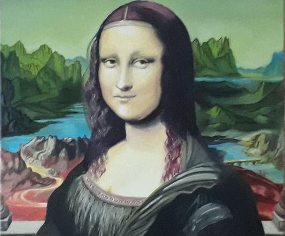 Мона Лиза (Джоконда) 60*40 см картина маслом