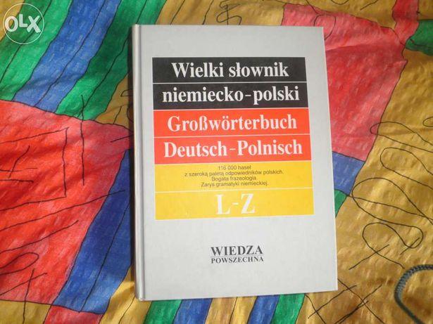 wielki słownik niemiecko-polski L-Z