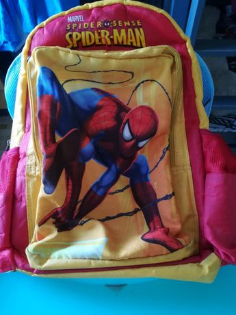 Spiderman plecak stan b dobry