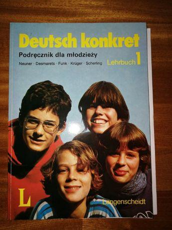 Deutsch konkret Lehrbuch 1. Podręcznik dla mlodzieży