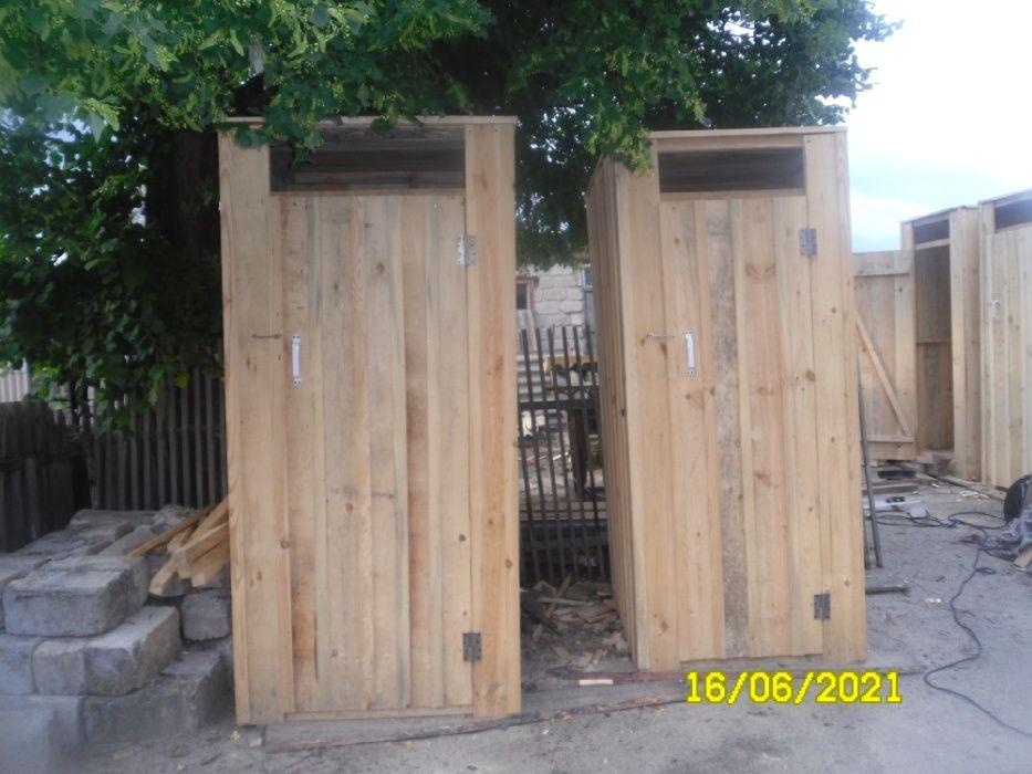 Продам деревянный туалет. душ