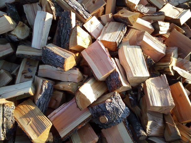 Drewno kominkowe, opałowe, dąb, brzoza, sosna