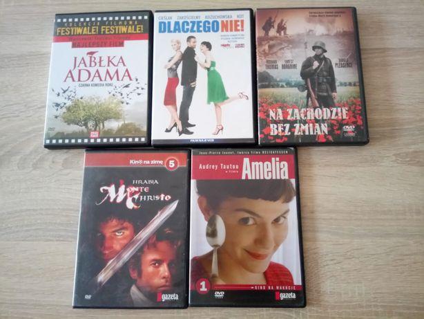 Oddam za darmo filmy na DVD (zestaw 5 szt.)