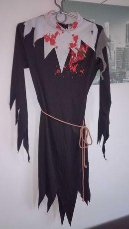 Wiedźma czarownica zakonnica siostra kostium przebranie strój S