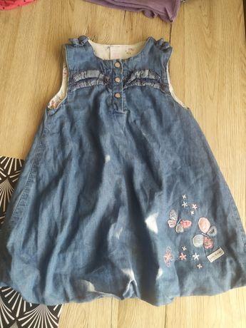 Sukienka dżins .
