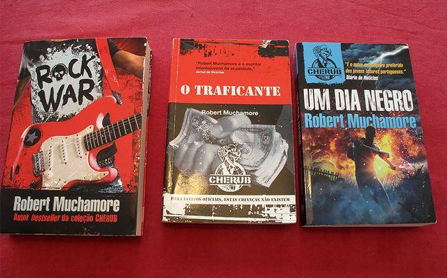 Livros Robert Muchamore