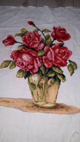 Piękny obraz róże