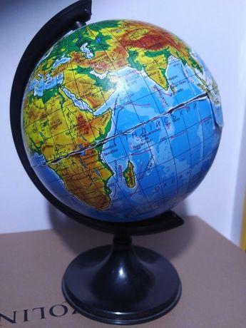 Глобус  политический с подставкой и без (только шар)