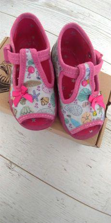 Buty buciki kapcie sandały sandałki kapciuszki 20 dziewczynki Befado