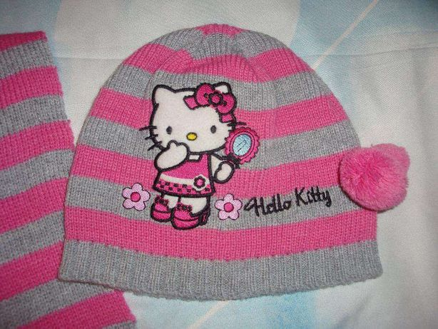 Детские шапки и шарфики
