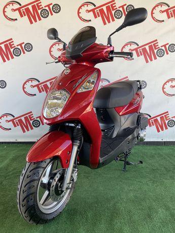 Новый Тайванский скутер SYM ORBIT 150  мотороллер мопед