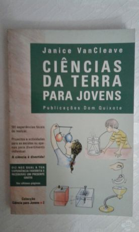 """Ciências da Terra para Jovens"" - Janice Vancleave"