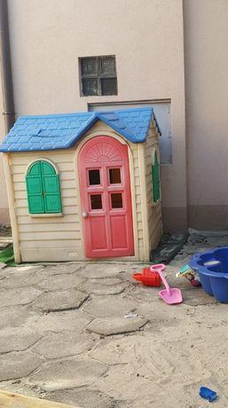 Domek dla dzieci ogrodowy