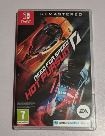 Need For Speed Hot Pursuit Remastered Nintendo Switch jak nowa