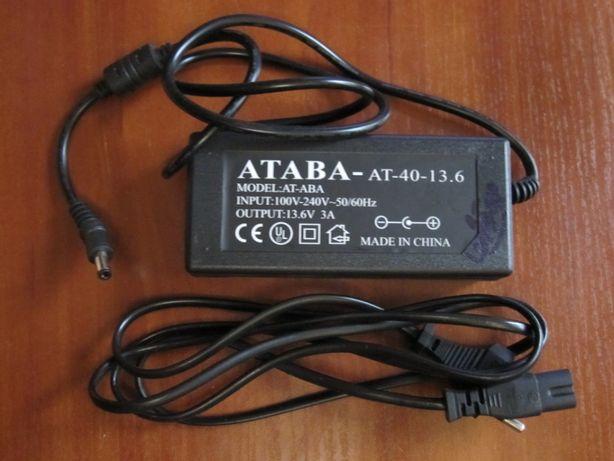 Блок питания ATABA-AT-40- 13,6 вольт/3 ампера/новый