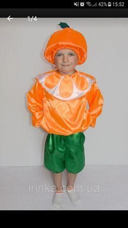 Костюм мандарина, апельсина