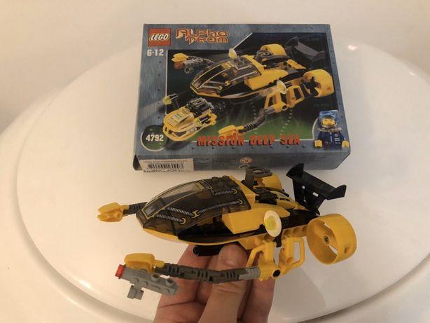LEGO конструктор, подводная лодка, субмарина ЛЕГО