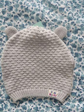 Nowa czapka bawełniana miś  86 j. Newbie