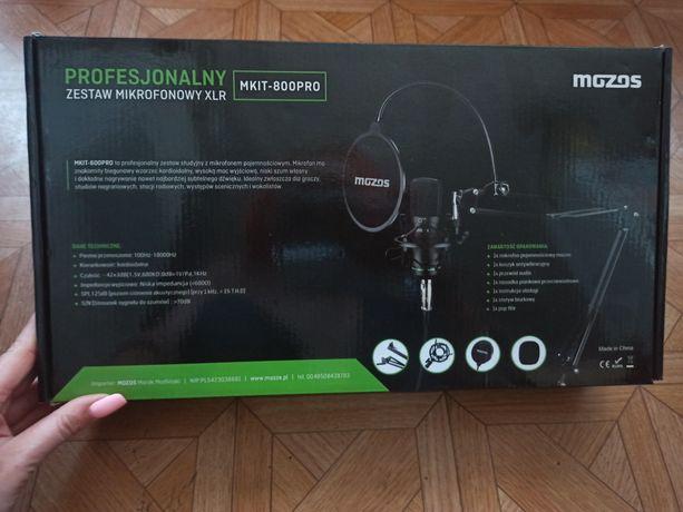 Profesjonalny zestaw mikrofonowy, jak nowy