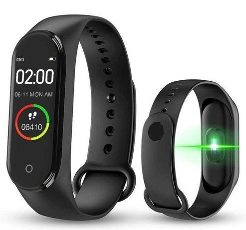 Фитнес браслет с пульсометром Smart band M4 умные часы браслет M4