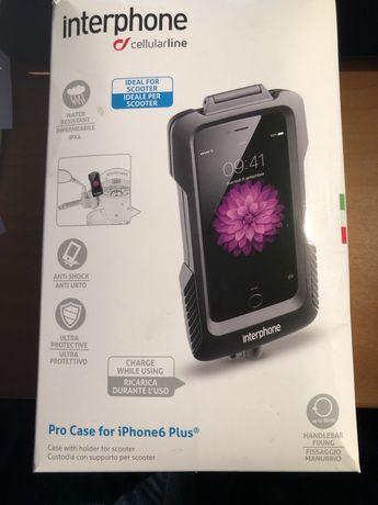 Estojo/suporte para Iphone Plus Cellularline - NUOVO
