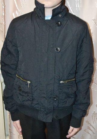 Курточка на мальчика 9-10 лет (рост 134-140)