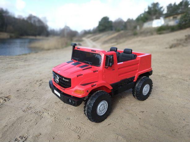 Auto Na Akumulator # Ciężarówka # Mercedes Zetros # Dwuosobowy #