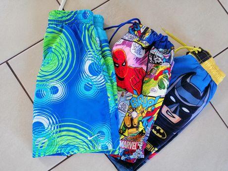 Spodenki kąpielowe 3 szt chłopięce Nike 116-122
