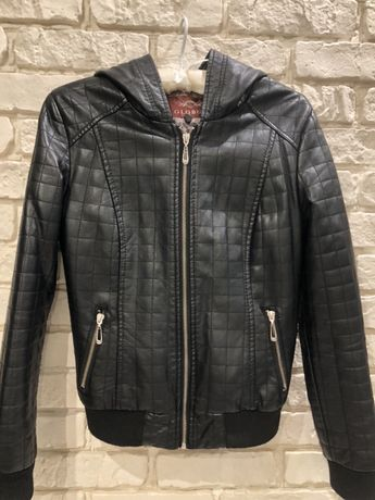 Куртка бомбер из эко кожи, размер s