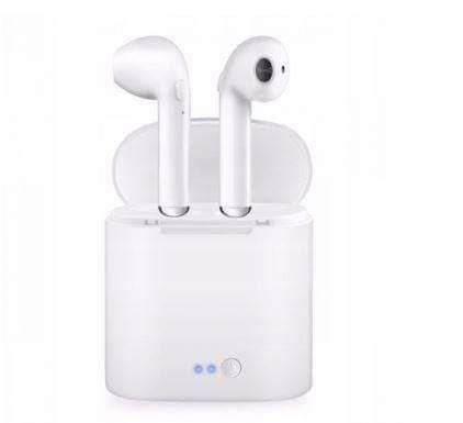 Bezprzewodowe słuchawki Bluetooth z power bankiem
