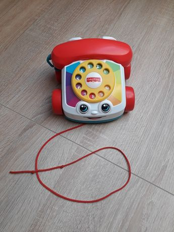 Telefonik gadułki fisher price